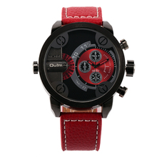DZ Top Luxury Brand Waches Men Leather Strap Big Dial Male Quartz Watches Fashion Military Wristwatch Relogio Masculino