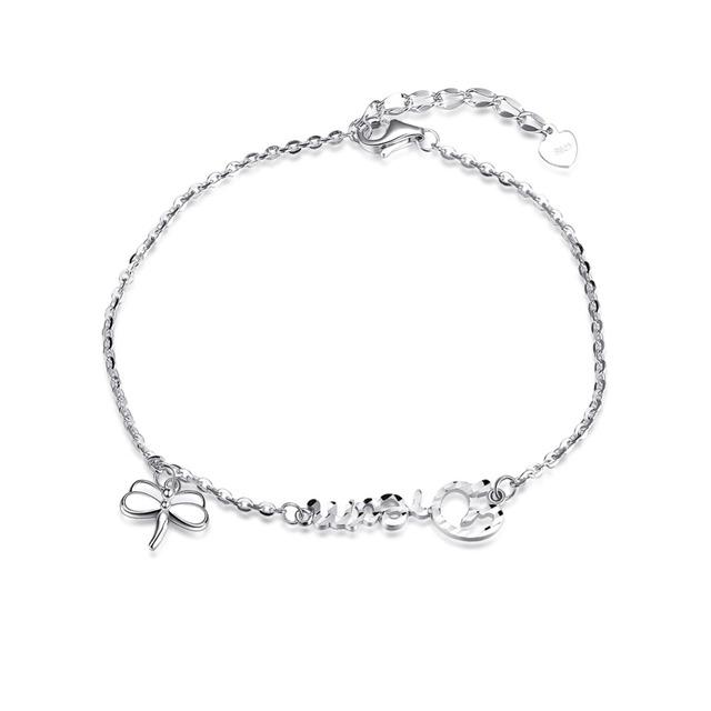 Новый горячая распродажа оригинальный стерлингового серебра - серебристо-ювелирные бабочка подвеска шарм Bracelets совместимой с DIY ювелирных