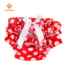 2016 High Quality Lace Photo Props Baby Bow Ruffle Bloomers For Newborn Toddler , 8 Color Baby Jumpsuit Baby Girls Clothing,(China (Mainland))