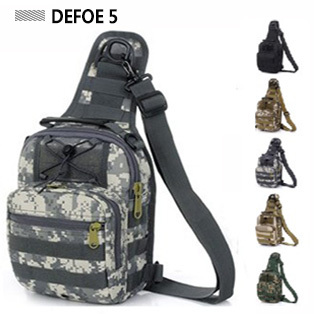 MOLLE System Ultra-light Heavy Duty Single Shoulder Sling Chest Bag,Range Soldier Ultimate Hunting Stealth Carrier Wholesale New(China (Mainland))