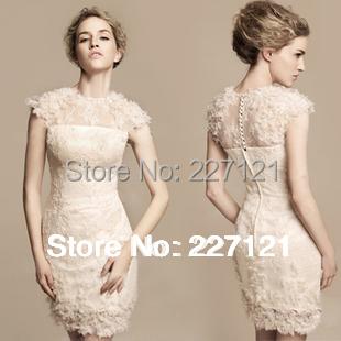 Free Shipping New Fashion Short Design Dress Women Slim Hip Long Bridal Dinner Evening Dress 2014 Birthday Party formal Dresses
