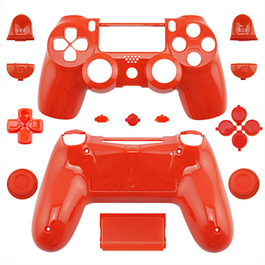 Orange Polishing PS4 Controller Full Housing Shell Case /Top+Buttom Shell Cover /Button Kit for PlayStation4 Wireless Controller(China (Mainland))