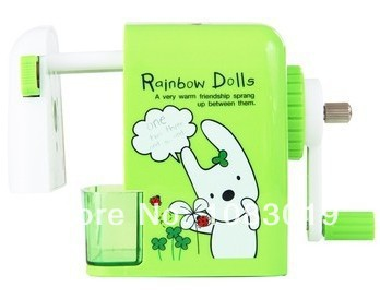New gifts 0629 children plastic sharpeners machine cutter for colored pencils deli brand office supplies stationery accessories<br><br>Aliexpress