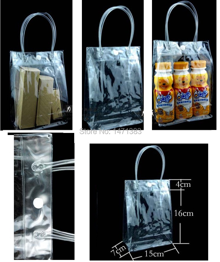 15*7*16cm Clear pvc cosmetic bag,wholesale cosmetic clear plastic bags,transparent pvc cosmetic bag(China (Mainland))