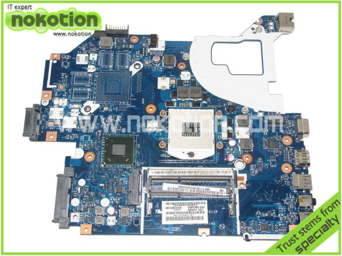 laptop motherboard for acer aspire V3-571G NBY1111001 LA-7912P hm77 GMA HD4000 ddr3(China (Mainland))