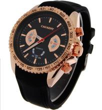 2015 nueva moda men sport reloj de cuarzo, recreación exterior marcas de relojes militares