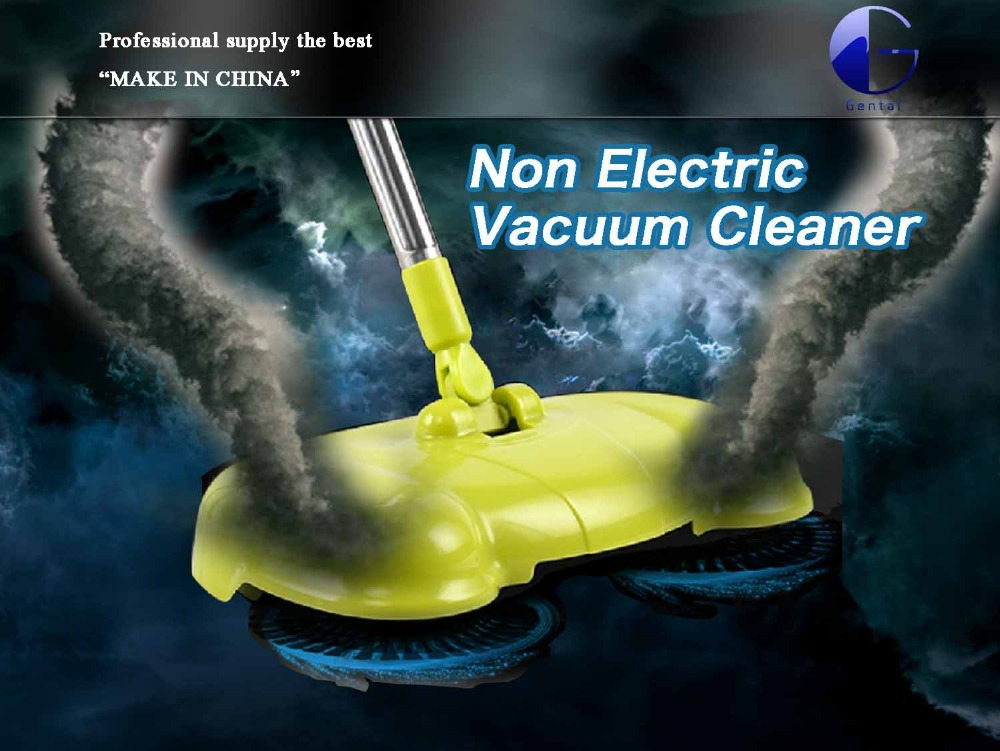 2015 new Hand Pushing no electricity household Floor Sweeper Vacuum Cleaners enviroment friend Manually cleaning Machine Broom(China (Mainland))