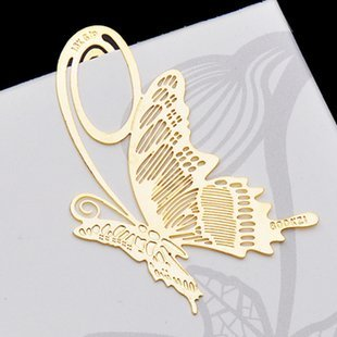 Hot!!Free ship!!30pc as a lot!creative cute brass-plated bookmark /metal boookmark/promotional gift