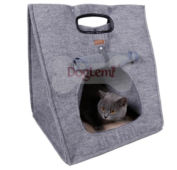 New design With three multifunction pet dog cat house supplies cats outdoor carrier litter products puppy beds doggy nest 1pcs(China (Mainland))