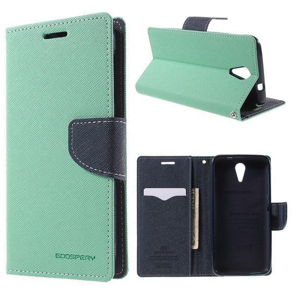 For HTC Desire 620 Case Original MERCURY Fancy Diary Wallet Leather Case for HTC Desire 620 Dual Sim / 620G Dual Sim with Stand(China (Mainland))