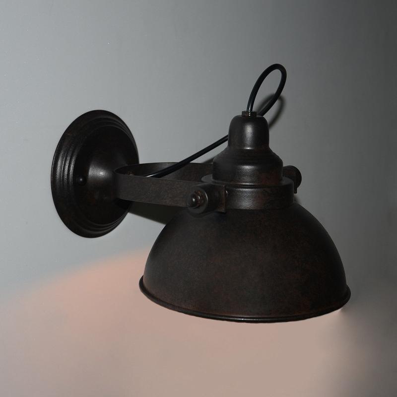 Фотография Industrial Retro Wall Lamp Aisle Corridor Hotel Bar Cafe American Country Bedside Wall Lamp