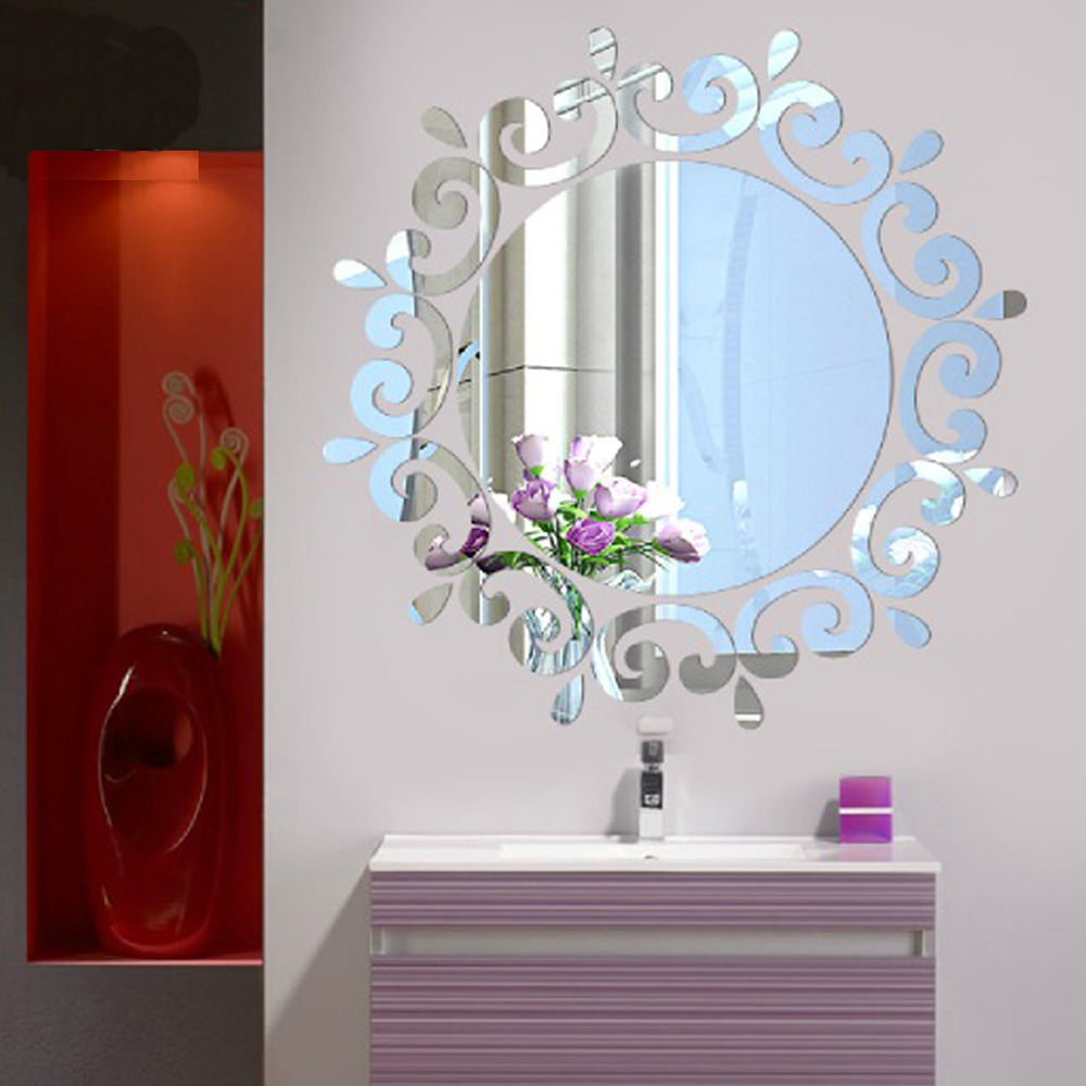 Online buy wholesale gold mirror tiles from china gold for How to make a mirror wall
