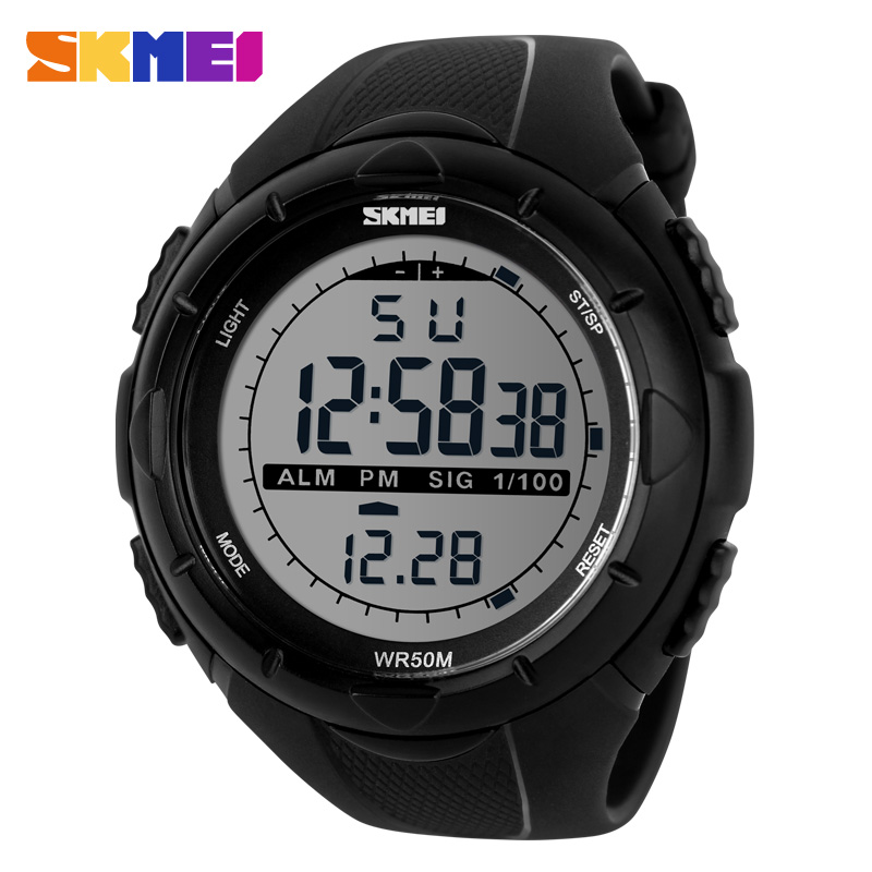 2016 New Skmei Brand Men LED Digital Military Watches Fashion Sports Watch Dive Swim Outdoor Casual Wristwatches Hot(China (Mainland))