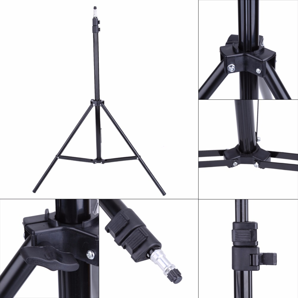 Photo 2M Light Stand Tripod With 1/4 Screw Head For Photo Studio Video Flash Umbrellas Reflector Lighting(China (Mainland))