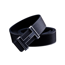 New 2016 Belt Mens Luxury Brand Smooth Buckle Casual All-Match Belt Designer Men Fashion PU Leather Belt For Man(China (Mainland))