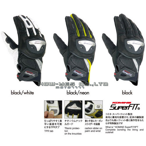 Фотография free shipping  new style KOMINE GK144 motorcycle racing gloves crossing knight gloves protective gloves