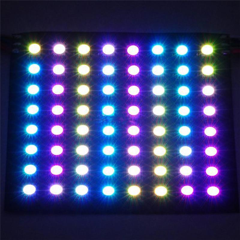 8-8-Pixel-64-Pixels-WS2812B-Digital-Flexible-LED-Programmed-Panel-Screen-Individually-Addressable-Color-DC5V(1)