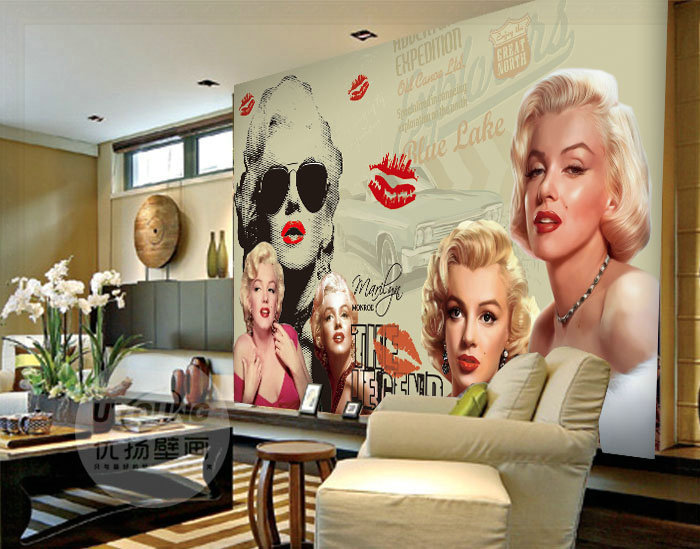 Marvelous Marilyn Monroe Wall Murals Design Part 89