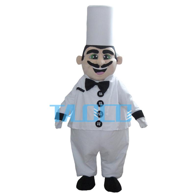 Hot Sale Cook Mascot Costume Adult Size Chef Mascot Costume(China (Mainland))