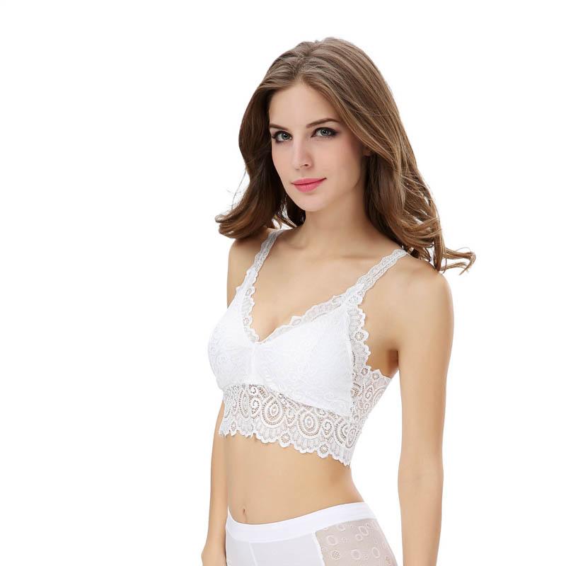 CharmDemon 2016 Fashion Women Lace Bra Strap Wrapped Chest Tank Crop Top New jy1