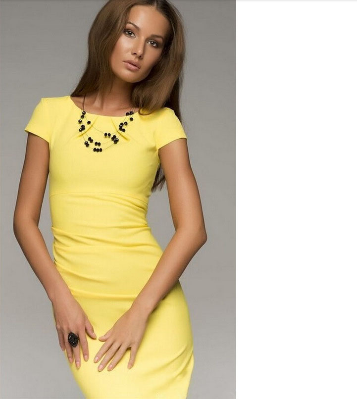 Женское платье Brand New 2015 Dresse Vestidos dress01/204 01-204 parrot zik 2 0 by philippe starck yellow