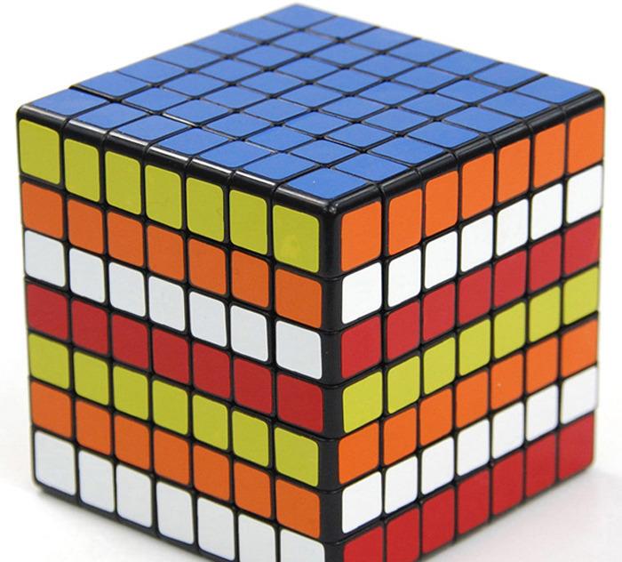 Гаджет  Genuine Kathrine Classic Toys Intellectual development V-Cube 7 White plastic 77mm 7x7 Entry-level 7-order cube Ability None Игрушки и Хобби