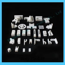 Free Shipping ! 1 set  RepRap Prusa Mendel i3 PLA plastic Parts Kit DIY Prusa i3 Acrylic frame 3D Printer printed parts – White