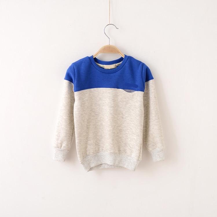 Clearance Discount Boys Jumper T shirts Autumn Cotton Fleece Girls Longs Sleeved T-shirt Children Clothes(China (Mainland))