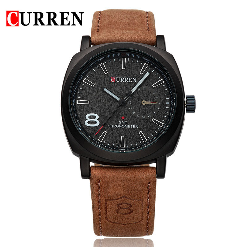 Curren-8139-Luxury-Brand-Sport-Men-Watch-Quartz-Fashion-Casual-Wristwatch-Military-Army-Leather-Band-Watches