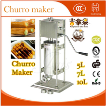 Buy freeshipping manual 304 stainless steel 7L Churro machine +churros filling machine for $438.00 in AliExpress store