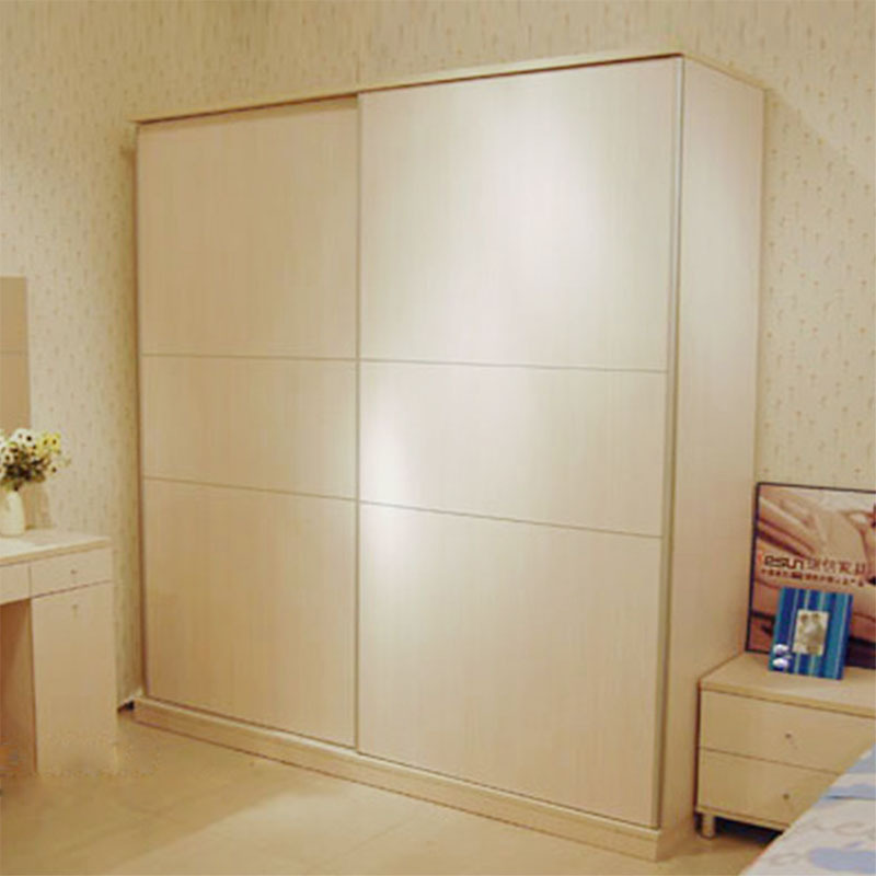 Sliding Door Wardrobe Simple Combination Plate Sliding Door Sliding