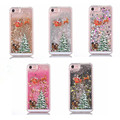 New Merry Christmas Tree Dynamic Colorful Quicksand Glitter Phone Case For iphone 7 7Plus 6 6s