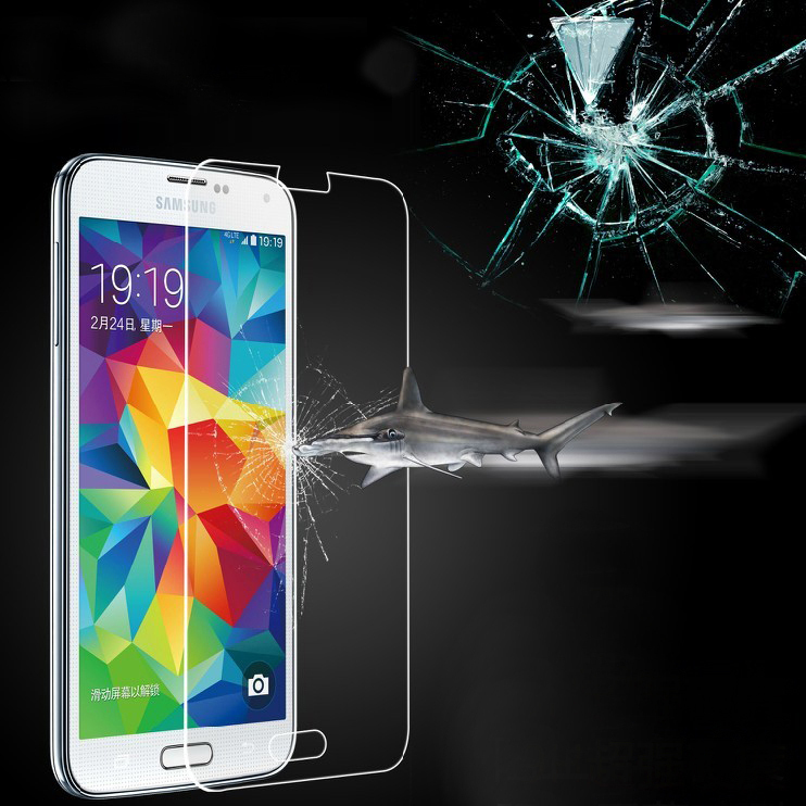 Top Quality Tempered Glass Screen Protector For Samsung Galaxy S6 G9200 Clear Transparent Ultra Thin Front Protective S6 Film(China (Mainland))