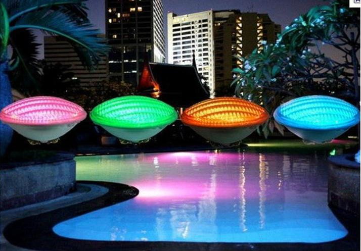 Подводное освещение Ouya PAR56 36W 12V RGB IP68 12led piscina CE RoHS kupo par 56