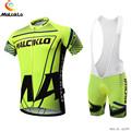 MALCIKLO Pro Team Bike Cycling Clothing Men Cycling Wear Bicycle Jersey Short Sleeve Reflective Sportwear Bike
