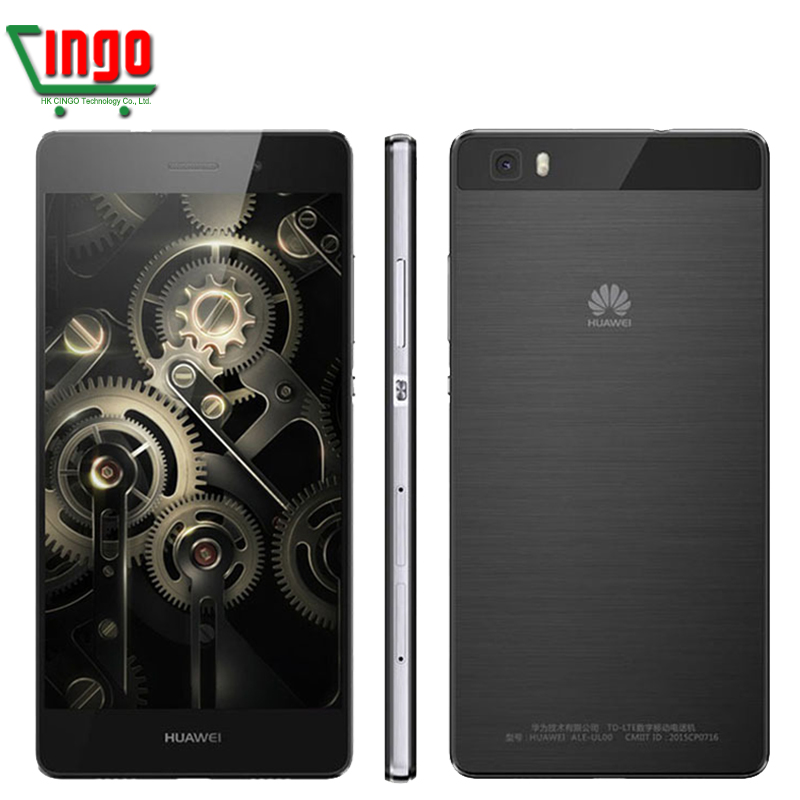 Original Huawei P8 Lite mobile phone 5.0inch Android 5.0 2GB 16GB Octa Core 64bit Hisilicon Kirin 620 13.0MP Dual SIM 4G LTE(China (Mainland))