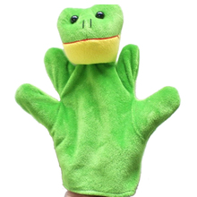 Delicate Baby Child Zoo Farm Animal Hand Glove Puppet Finger Sack Plush Toy Hot Selling(China (Mainland))