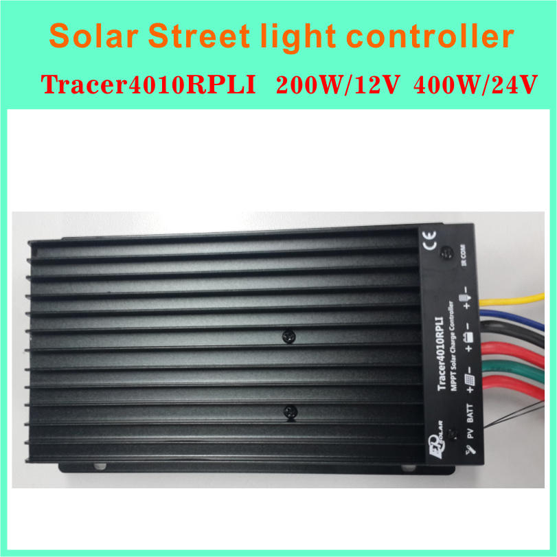 Solar MPPT controller controller Water Proof IP68 Stage Street Light Controller With LED Driver TRACER4010RPLI(China (Mainland))
