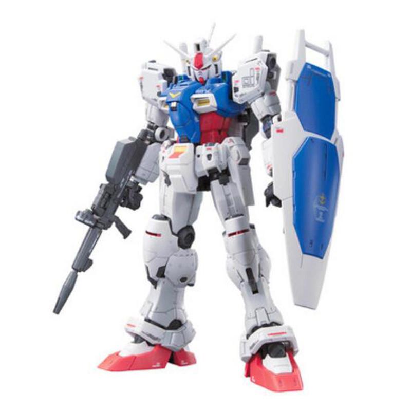 Starz BANDAI RG 1/144 GUNDAM GP01 ZEPHYRANTHES Model Anime Building Kits Figures Colletion Robot Toys