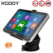 XGODY GPS NAVIGATION 7″ TRUCK CAR GPS SAT NAV NAVIGATION SYSTEM  8GB UK+USA FREE MAP