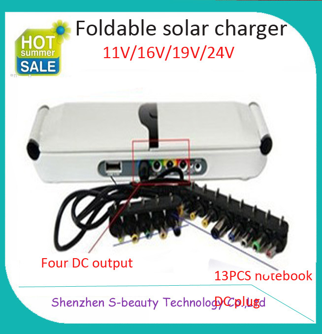 Free shipping DC.5v/11v/16v/19v/24v 12000mAh Portable mobile solar charger backup battery for samsung galaxy s3 laptop notebook(China (Mainland))