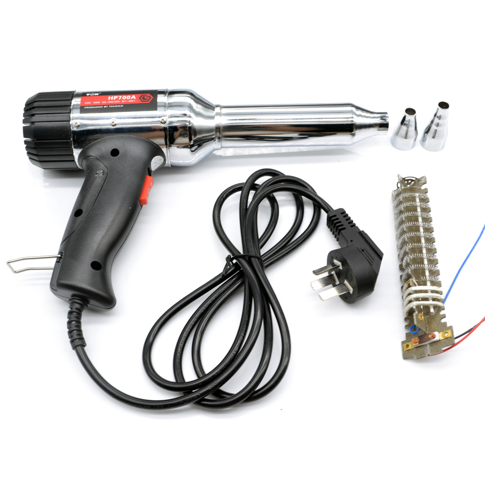 700W Plastic Welding  Heat Gun  Torch CE ROHS Quality Power ToolsMetal Shell  welding baking heat gun ram the bumper