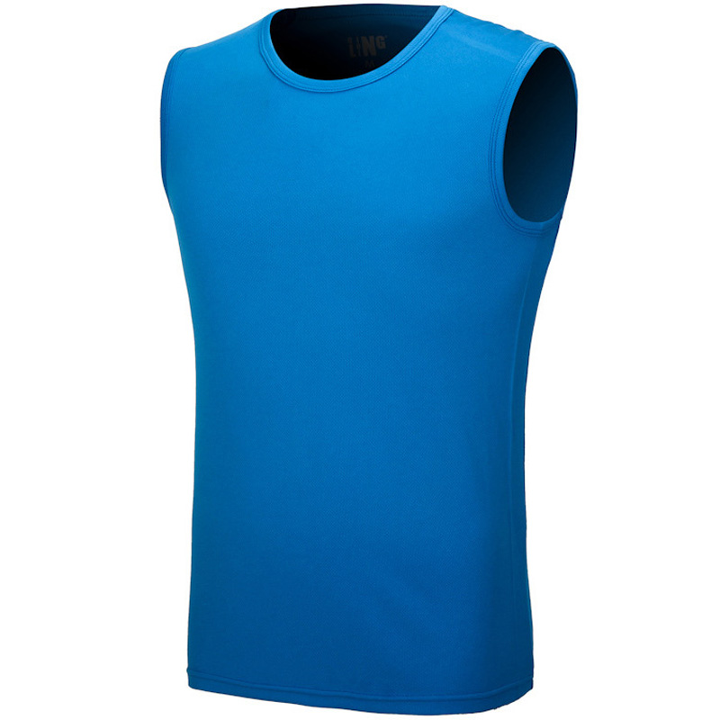 Brand Men Sport Sleeveless Underwear Running Outdoor Quick Drying Football Basketball Jersey Bottoming Broad Shoulder Mesh Vest(China (Mainland))