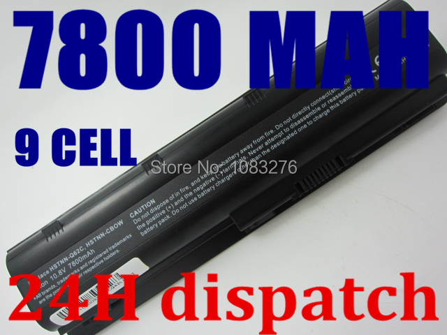 laptop Battery For HP G32 G42 G42t G56 G62 G62t G72 G72t Pavilion g4 G6 G7 dm4t dv3-2200 dv5-1200 dv6-3000 dv7-1400 g4-1000<br><br>Aliexpress