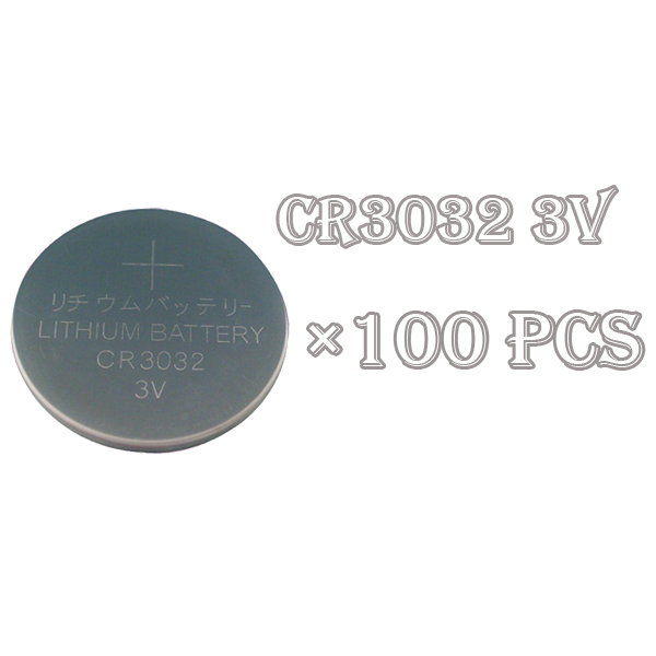 Factory Wholesale100Pcs/PKCELL CR3032 3V Button Cell Batteries cr3032 Battery(China (Mainland))