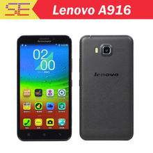In Stock Original Lenovo A916 5.5 Inch HD IPS MTK6592 Octa Core Android 4.4 4G LTE Mobile Cell Phone 1GB RAM 8GB ROM 13MP CAM