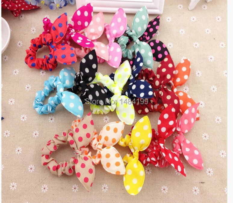 Big promotiion 1 hair accessories flower headband Sweet baby Girl Elastic Hair Band Ponytail Holder Accessories Headwear - Rainbow Road store