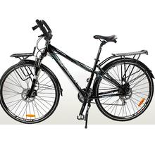 24 Speeds Professional Long-distance Travel Bike, Aluminum Alloy Frame, ,Both Hydraulic Disc Brake,Bearing Hubs(China (Mainland))