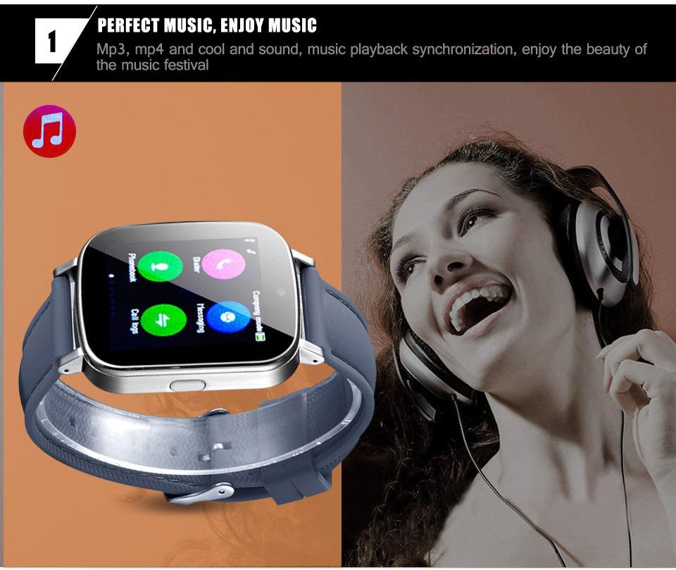 ถูก ดูสมาร์ทซิงค์แจ้งเตือนกับซิมการ์ดการเชื่อมต่อบลูทูธสำหรับIOSแอปเปิ้ลและโทรศัพท์A Ndroid Smartwatch