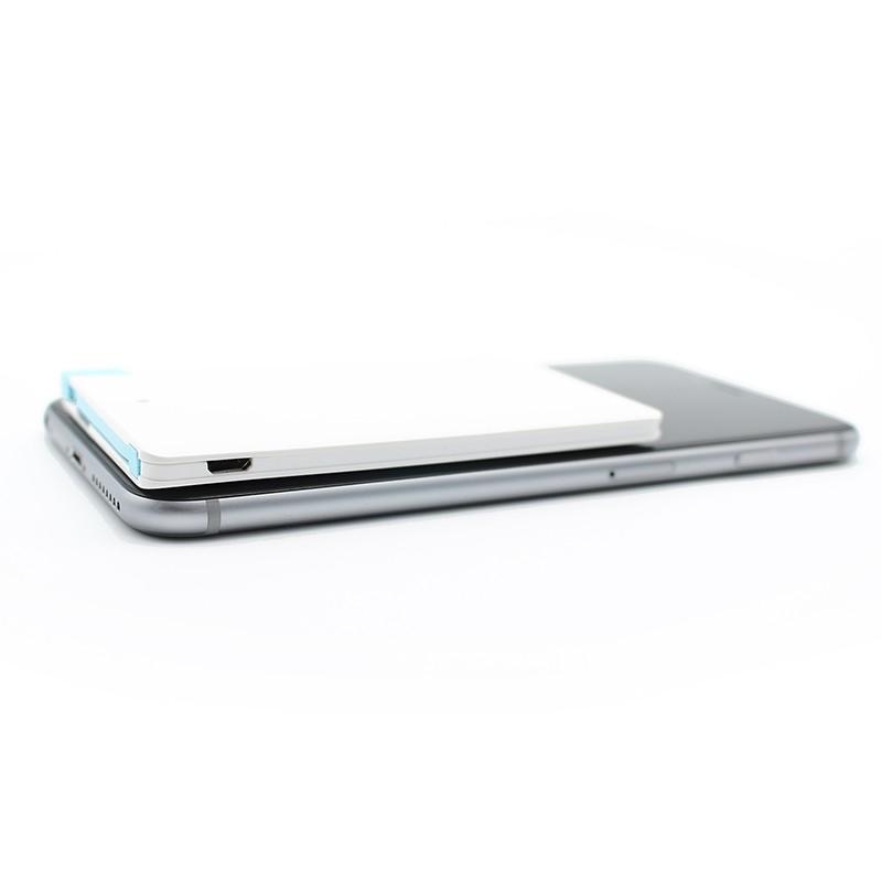 Ultra slim card Portable Charger Backup External Battery Mobile USB Emergency Power Bank for xiaomi mi5 pro redmi 3